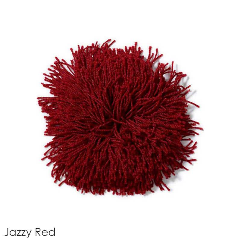 Tuftex Celeb 100oz Super Thick Shag Indoor Area Rug Jazzy Red