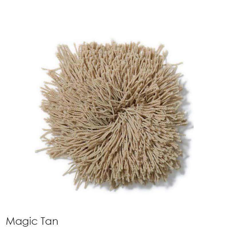 Tuftex Celeb 100oz Super Thick Shag Indoor Area Rug Magic Tan