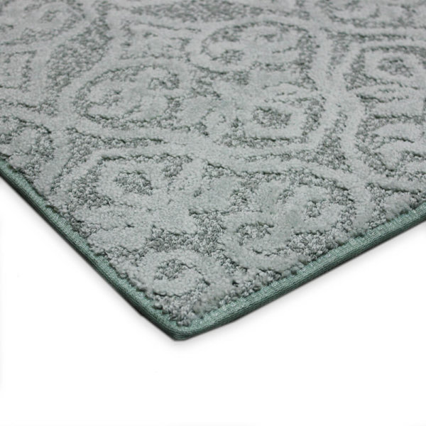 Modern Amenities Pattern Repeat Indoor Area Rug Collection Beachglass corner