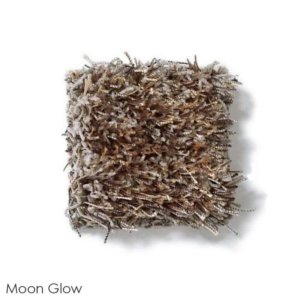 Tuftex Swag 75 oz Super Thick Shag Indoor Area Rug Collection Moon Glow