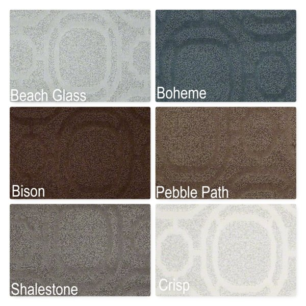 Ornamental Pattern Repeat Indoor Area Rug Collection