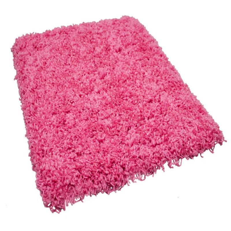 Kane Carpet Candy Shag Ultra Soft Indoor Area Rug Collection Passion Pink