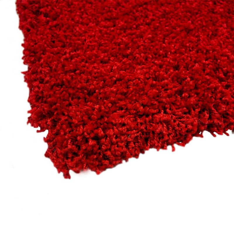 Kane Carpet Candy Shag Ultra Soft Indoor Area Rug Collection Peppermint corner