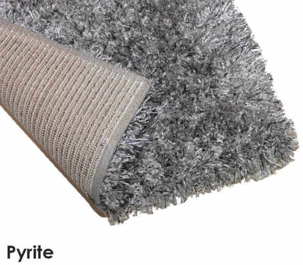 Kane Carpet Tempera Shag Ultra Soft Area Rug Shagtacular Collection Pyrite
