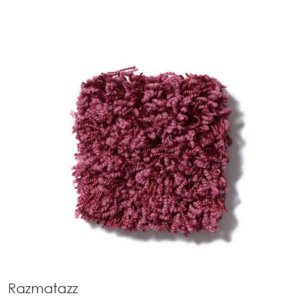Uptown Girl Indoor Shag Carpet Area Rug Collection Razmatazz