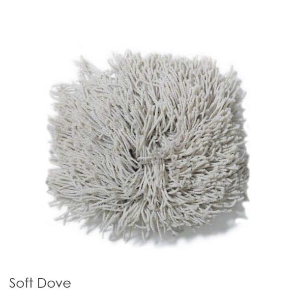 Tuftex Celeb 100oz Super Thick Shag Indoor Area Rug Soft Dove