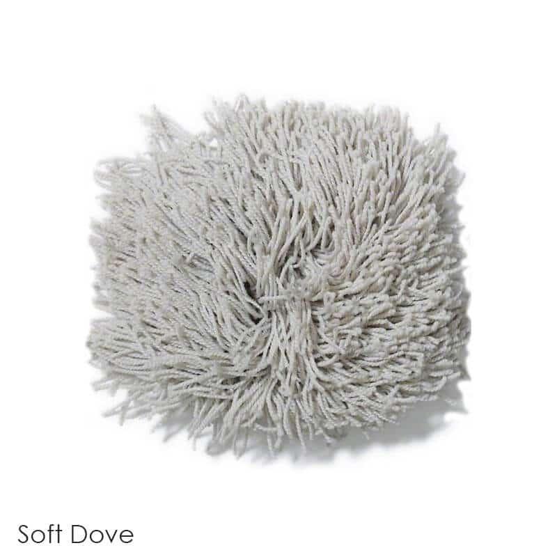 Tuftex Celeb 100oz Super Thick Shag Indoor Area Rug Soft Dove