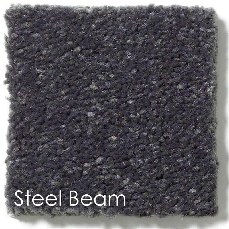 Dyersburg Cut Pile Indoor Area Rug Collection Steel Beam
