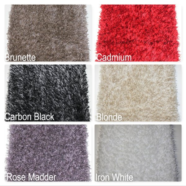 Kane Carpet Tempera Shag Ultra Soft Area Rug Shagtacular Collection