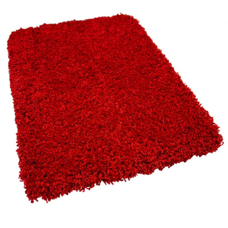 Kane Carpet Candy Shag Ultra Soft Indoor Area Rug Collection Peppermint