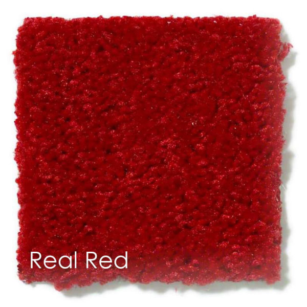 "Dyersburg Cut Pile Indoor Area Rug Collection | 1/2"" Thick 30 oz. Durable Cut Pile Indoor Area Rug Multiple Colors Real Red"