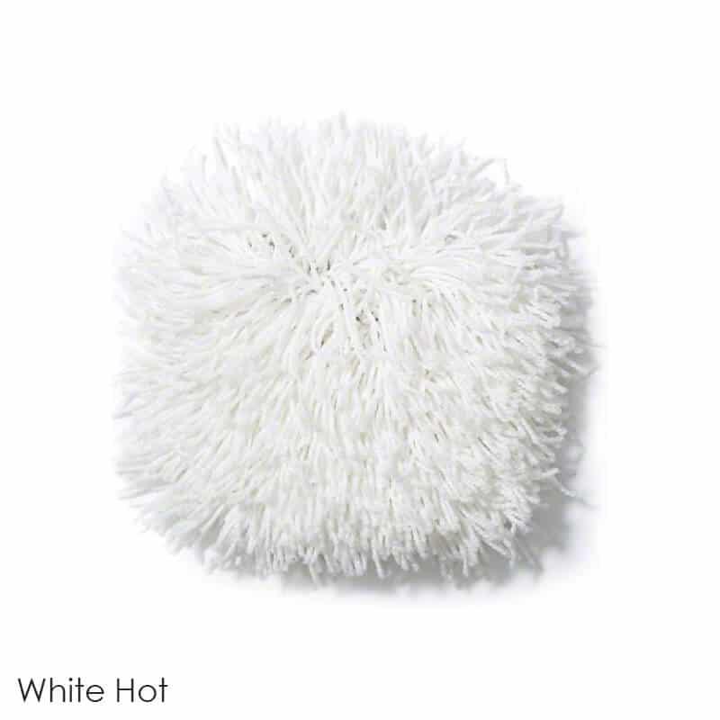 Tuftex Celeb 100oz Super Thick Shag Indoor Area Rug White Hot