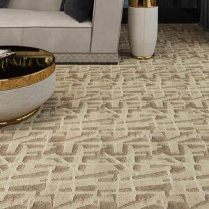 Kane Carpet Alluvion Ultra Soft Area Rug Himalaya Collection - Room