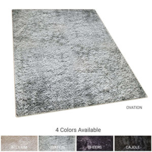 Kane Carpet Applause Ultra Soft Area Rug Shagtacular Collection