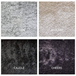 Kane Carpet Applause Ultra Soft Area Rug Shagtacular Collection - 4 Colors Available