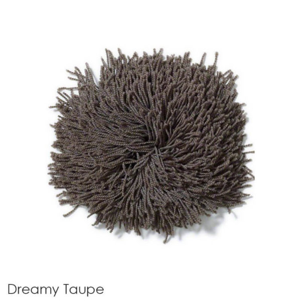 Tuftex Celeb 100oz Super Thick Shag Indoor Area Rug Dreamy Taupe