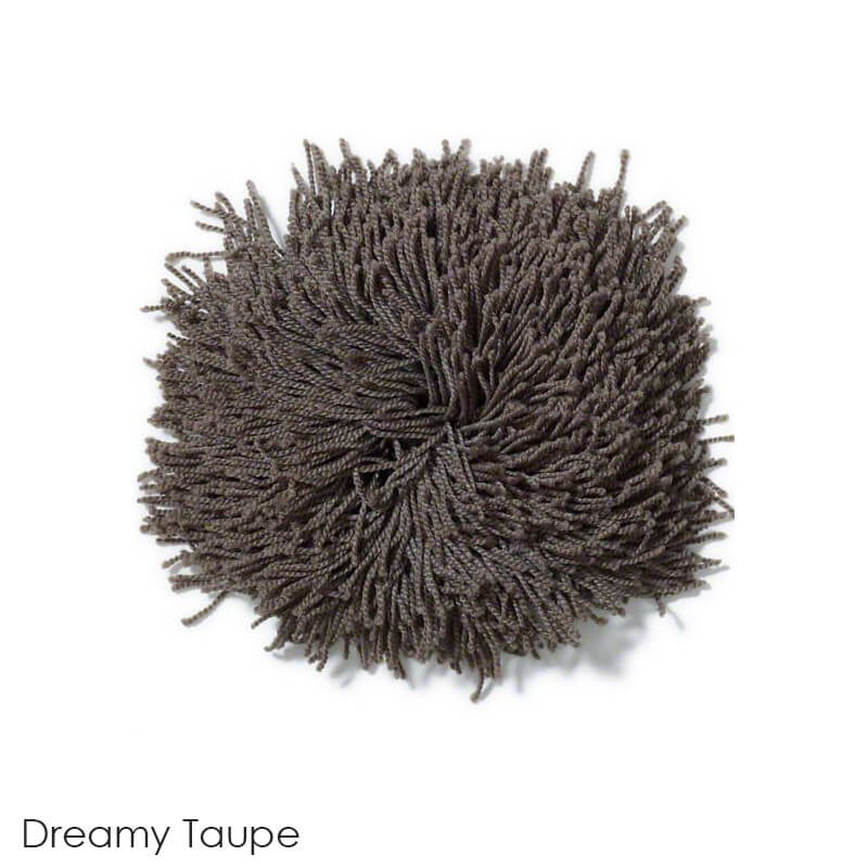 Tuftex Celeb 100oz Super Thick Shag Indoor Area Rug Dreamy Taupe