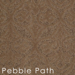 modern amenities Pebble Path custom cut area rugs