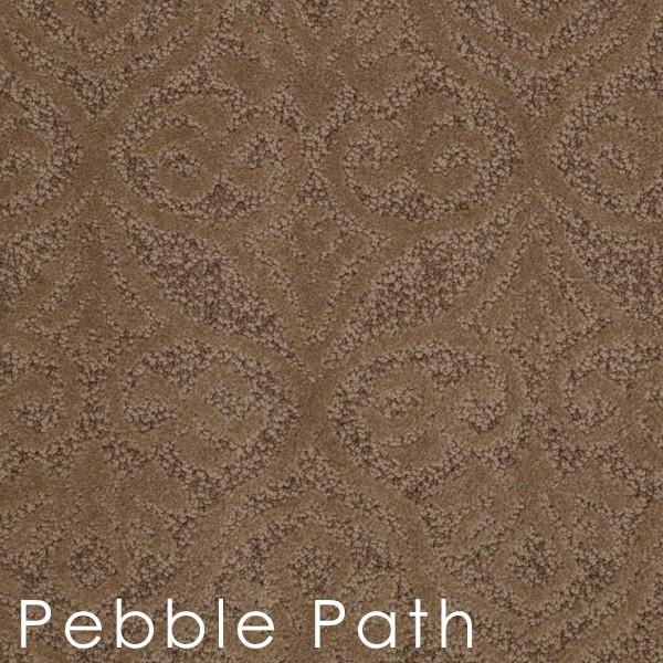 modern amenities Pebble Path custom cut area rugs