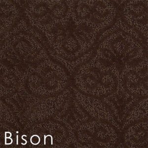 modern amenities bison custom cut area rug
