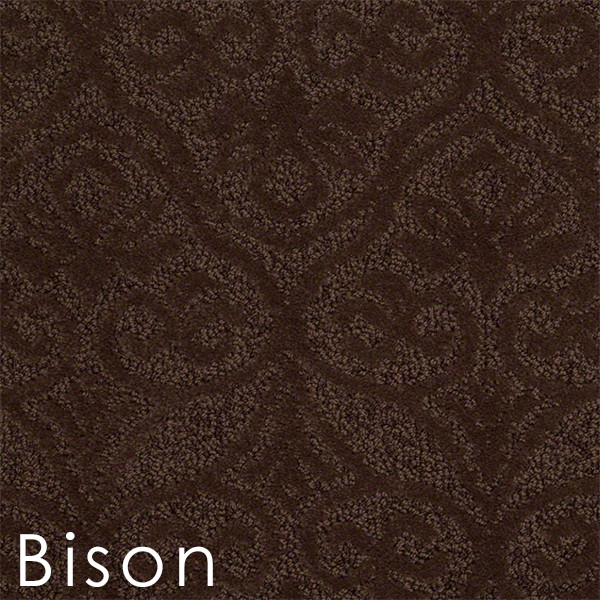 modern amenities bison custom cut area rug