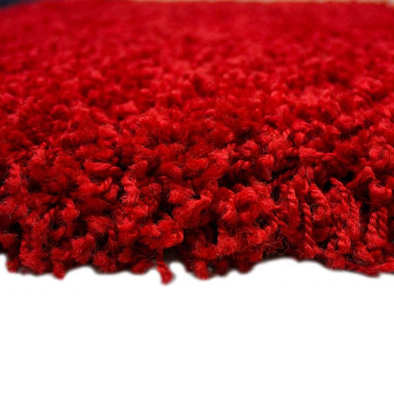 Kane Carpet Candy Shag Ultra Soft Indoor Area Rug Collection Peppermint side