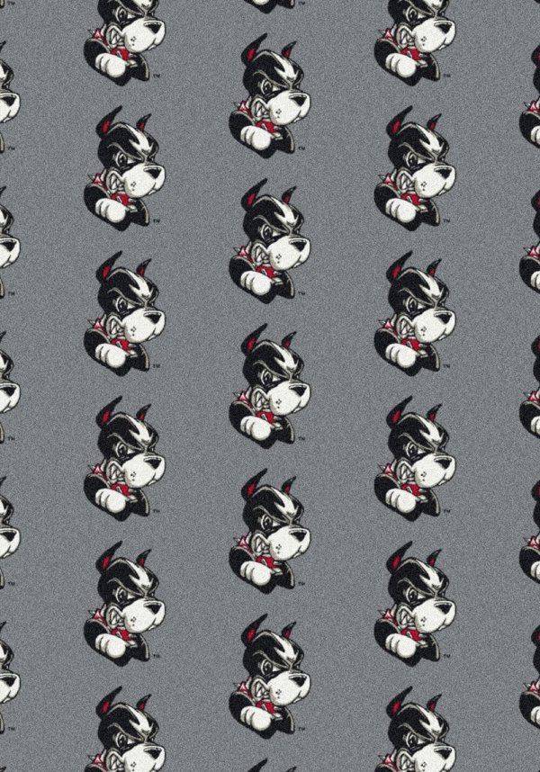 Boston Terriers Area Rug
