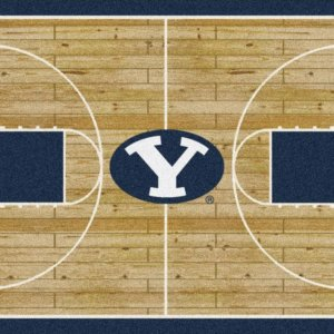 Brigham Young Cougars Area Rug