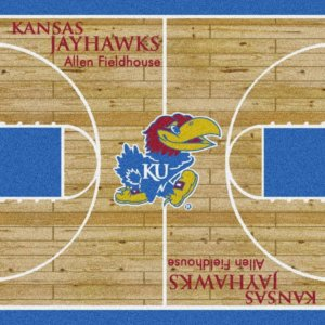 Kansas Jayhawks Area Rug