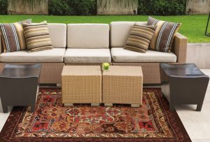 summer outdoor rug