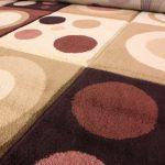 Indoor round rug