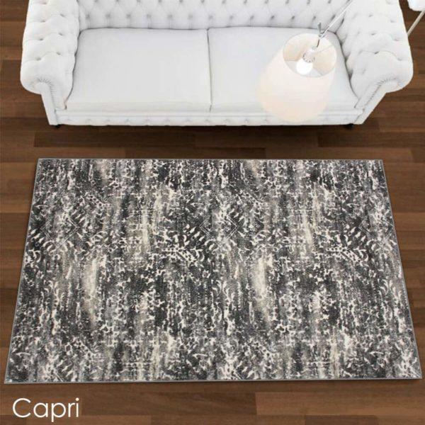 Kane CarpetEmphatic Plush Indoor Area Rug Ibiza Collection Capri room scene