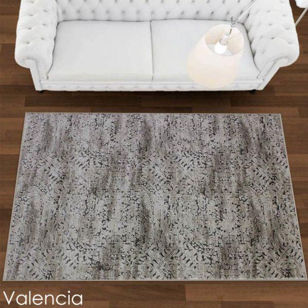 Kane CarpetEmphatic Plush Indoor Area Rug Ibiza Collection V Room Scene