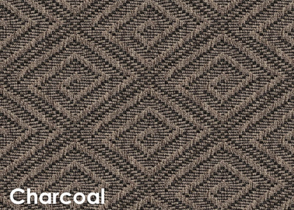 Curacao Custom Cut Economy Indoor Outdoor Collection Charcoal