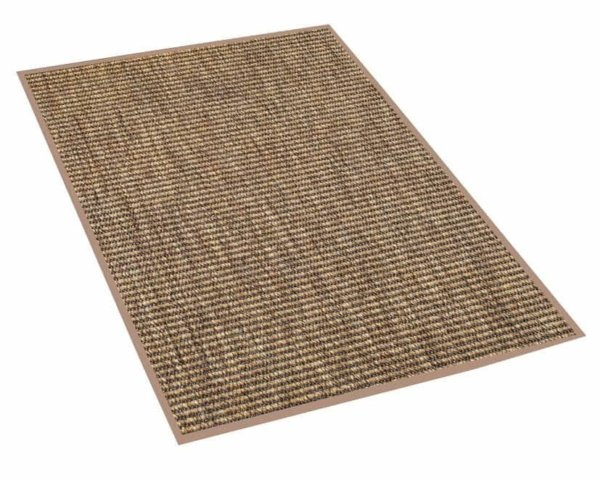 Luxurious Caravan Indoor/Outdoor Wear Ever Collection Curry Rug