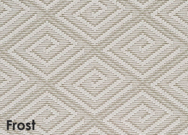 Curacao Custom Cut Economy Indoor Outdoor Collection Frost
