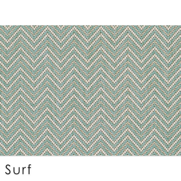 Kalani Chevron Custom Cut Indoor Outdoor Area Rug Collection | Indoor Outdoor Carpet Patio Area Rugs Customize Your Size & Shape Surf
