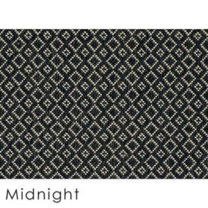 Malia Custom Cut Indoor Outdoor Area Rug Collection Midnight