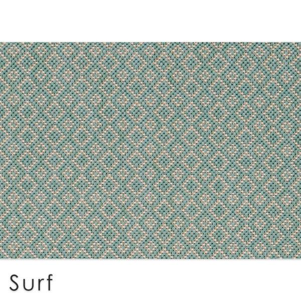 Malia Custom Cut Indoor Outdoor Area Rug Collection Surf