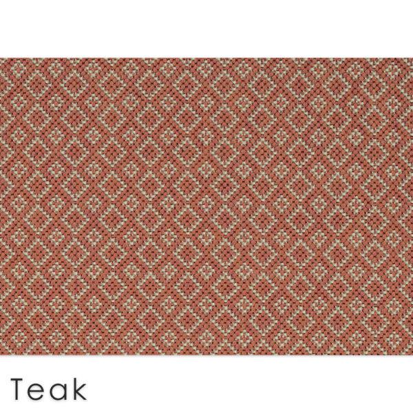 Malia Custom Cut Indoor Outdoor Area Rug Collection Teak