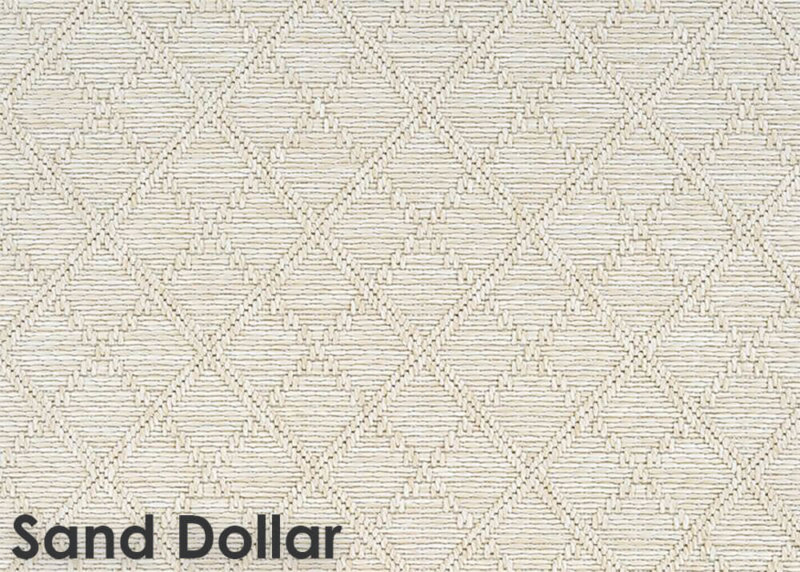 Sea Bright Custom Cut Economy Indoor Outdoor Collection Sand Dollar