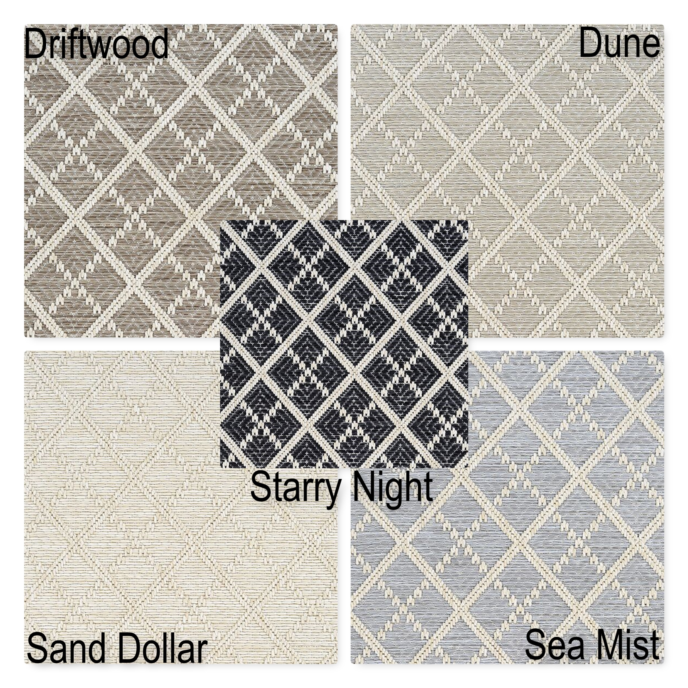 Sea Bright Custom Cut Economy Indoor Outdoor Collection