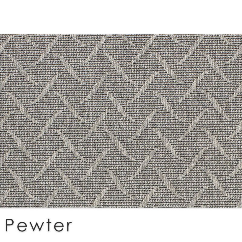 St Kitts Custom Cut Indoor Outdoor Collection Pewter