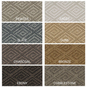 Curacao Custom Cut Indoor Outdoor Collection - 8 Colors Available