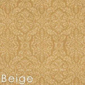 Beige Antique Damask Area rugs