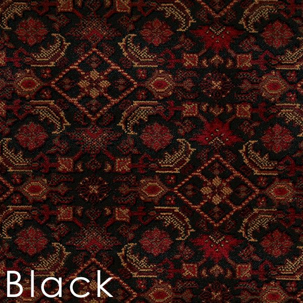Black Bidjar custom cut area rugs