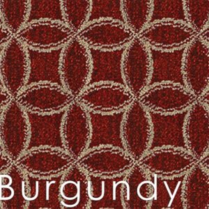 Burgundy Frienze Area Rug Coolection