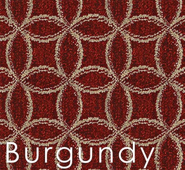 Burgundy Frienze Area Rug Coolection