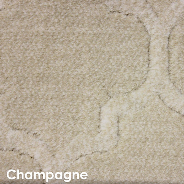 Majorca Indoor Luxury Area Rug Marina Collection Champagne