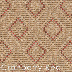 Cranberry Hancock Custom Cut rugs